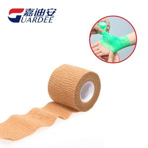 5cm*4.5m医用伤口自粘弹性绷带-棉布